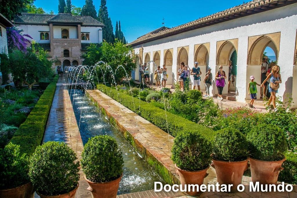 Alhambra, Generalife, Granada, Espanha_