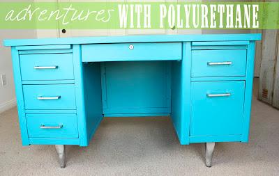adventures with polyurethane
