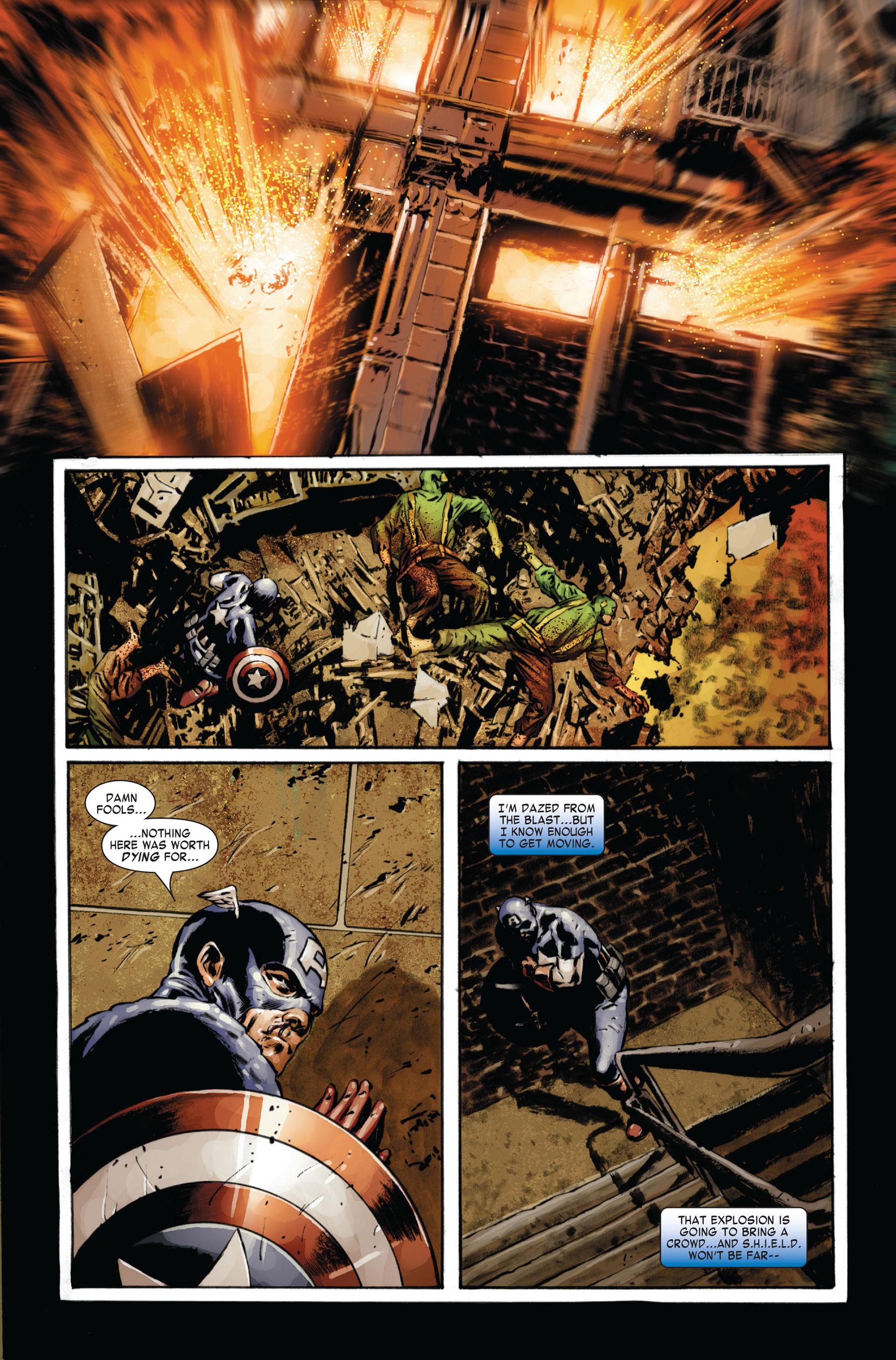 Captain America (2005) Issue #24 #24 - English 15