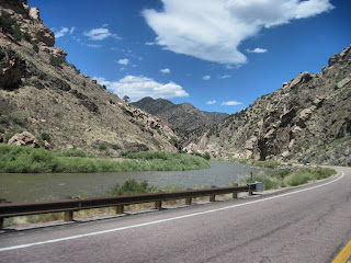 Hwy 50 - Arkansas River - near Canon City