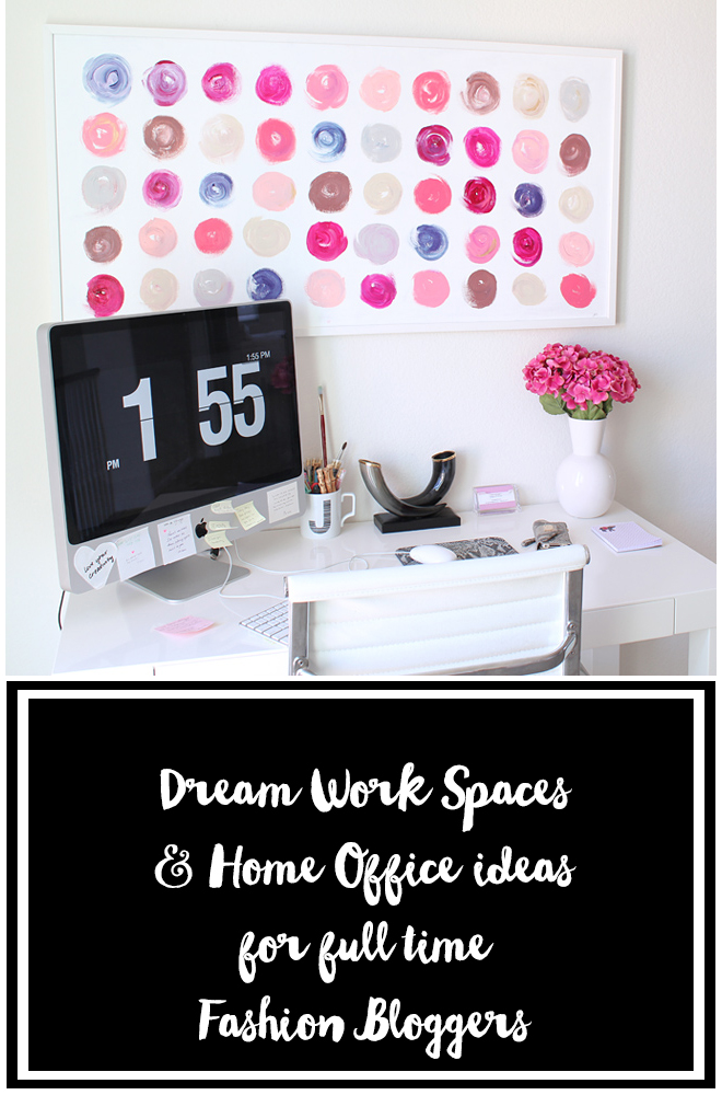 home office, work space, fashionblogger, minimalist, inspiration, pinterest