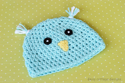 free crochet pattern spring chick hat