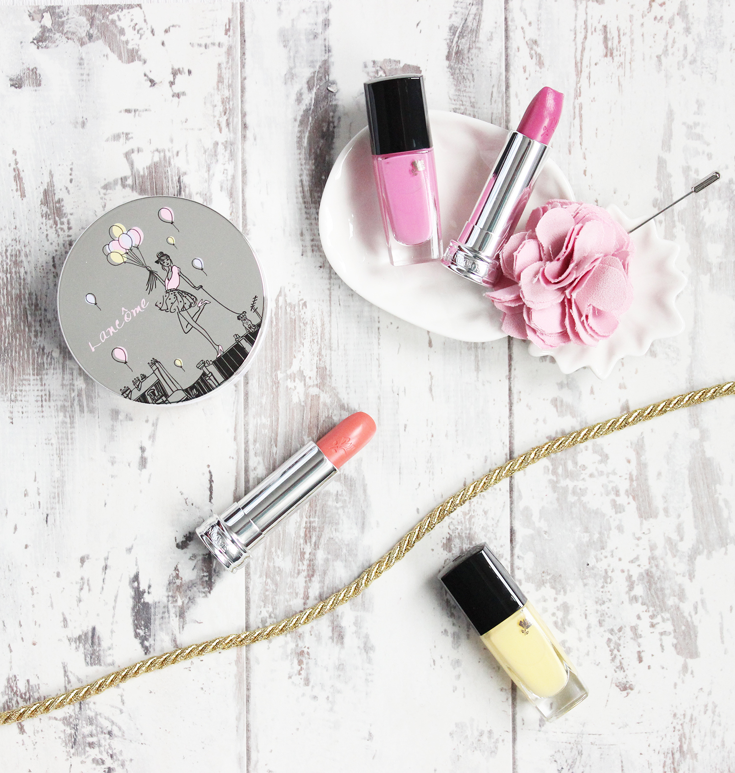 Lancome Spring 2016 collection 'From Lancome with Love' review