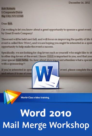 Video2Brain – Word 2010 Mail Merge Workshop