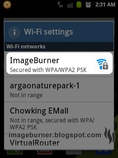 Your phone should be able to detect the new wifi setup.