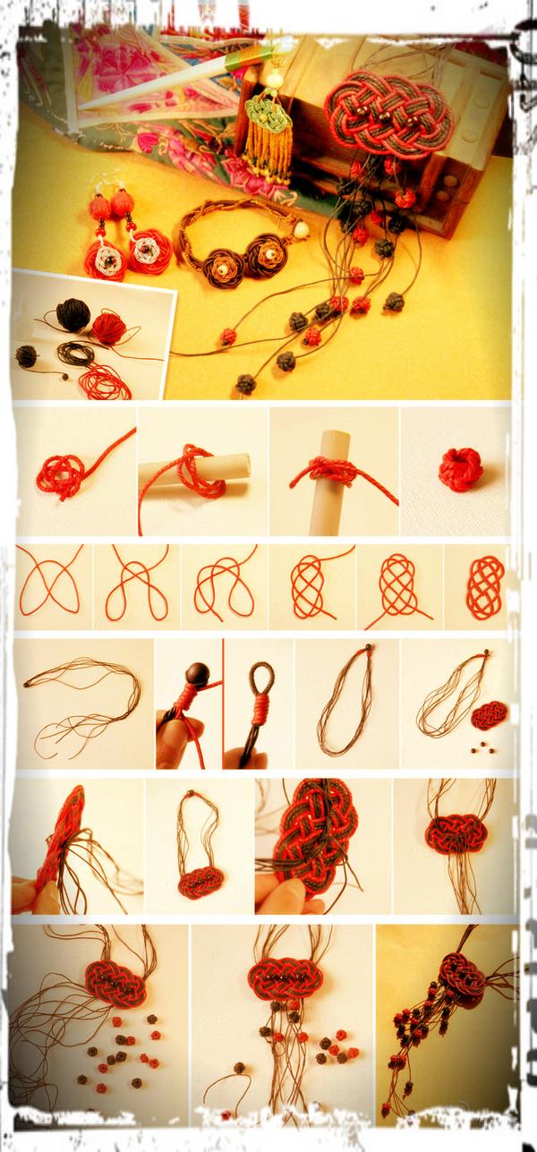 Плетение из цветной проволоки