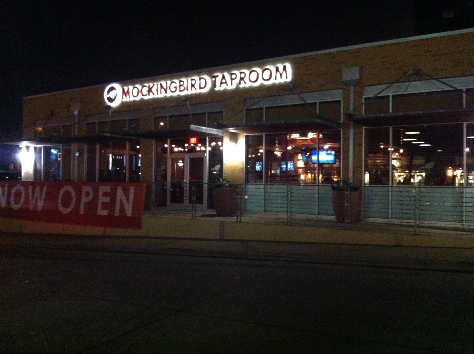 Mockingbird Taproom Dallas Restaurant BBQ Barbecue Barbeque Bar-B-Que