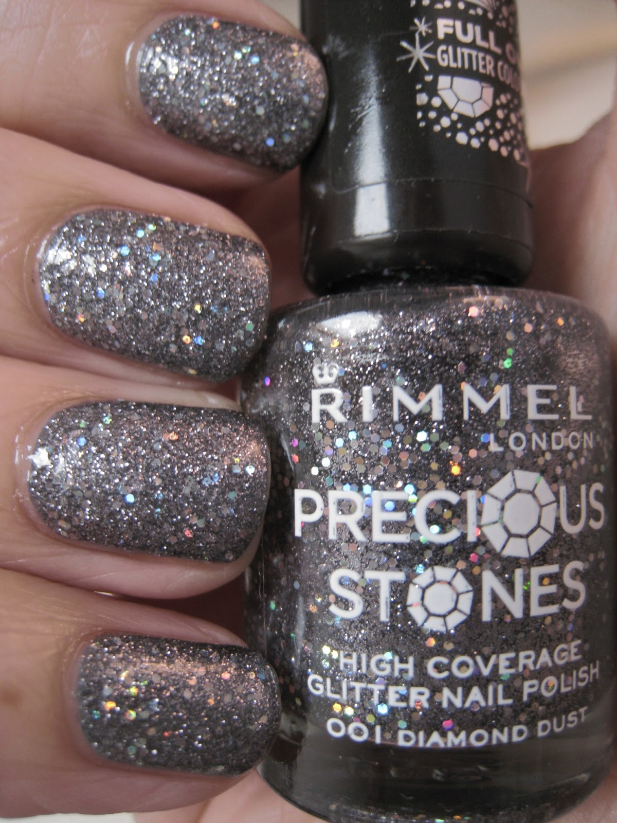Naily perfect: Rimmel Precious Stone Collection - Diamond Dust Swatch