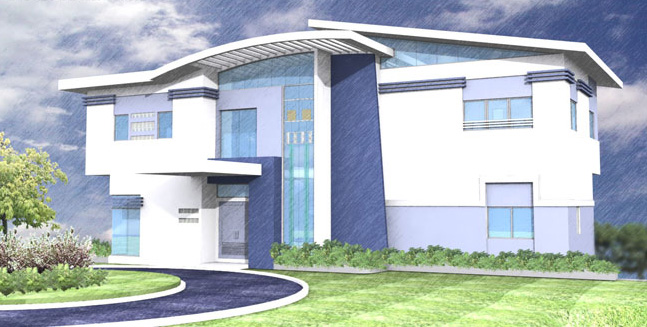 New home designs latest modern house exterior front for House building front design
