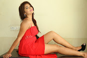 Ashwini glamorous photos in red-thumbnail-5