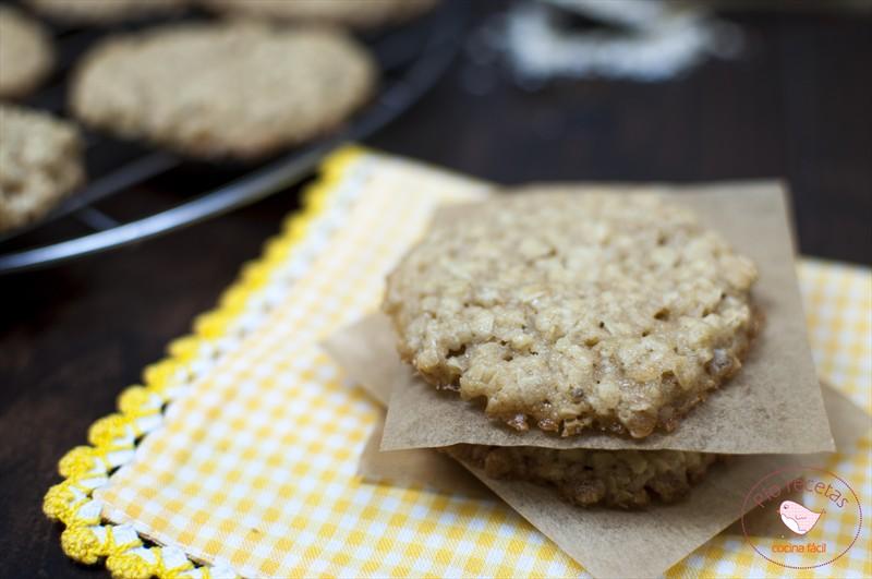 galletas de avena sin huevo