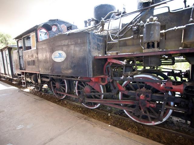The train museum Da Lat