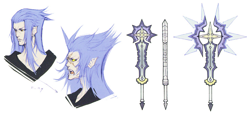 Final Kingdom: Organization XIII - N°VII - Saix The Luna Diviner