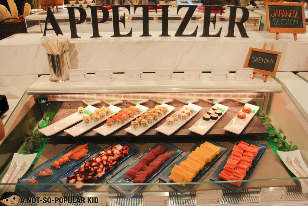 Appetizer Buffet - Four Seasons Hotpot City