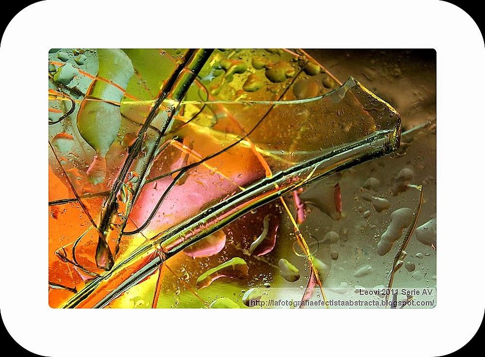 Foto Abstracta 3242  Mi vida arde en el frío cortante - My life burns in the biting cold