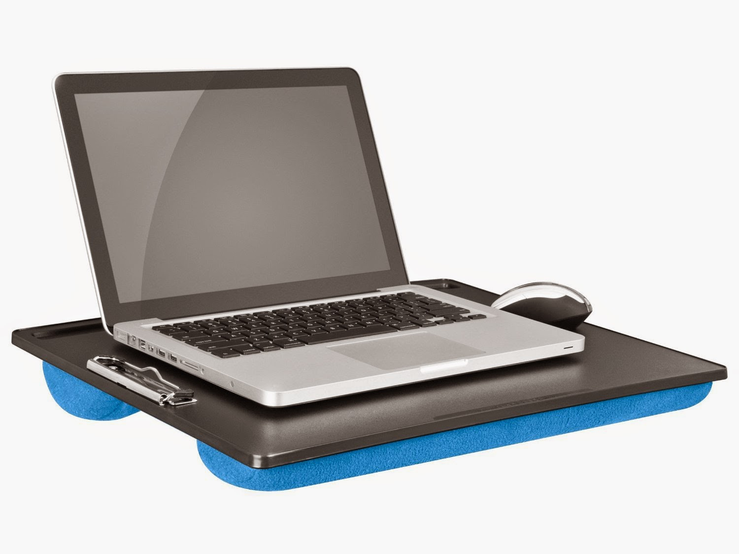 Media Converter AND LapGear Jumbo Student LapDesk with Clip Blue (45105)