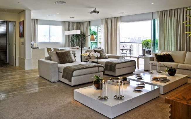 Ideias Para Sala De Estar Moderna ~ Para a sala de estar, busque sofás com designs clássicos, de linhas