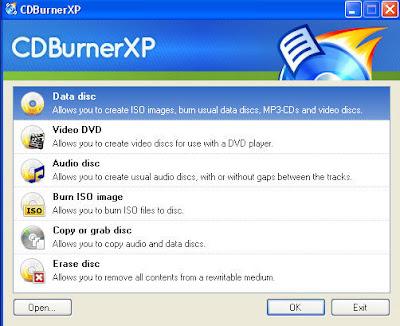 Software Gratis Terbaik Untuk Burning CD dan DVD