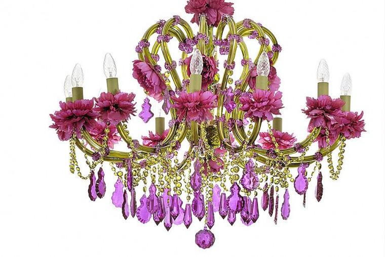 Unas lamparas de ara a diferentes - Lampara arana colores ...