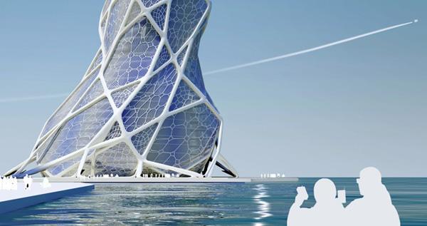 Parametric Generative Design Bionic Tower Combines