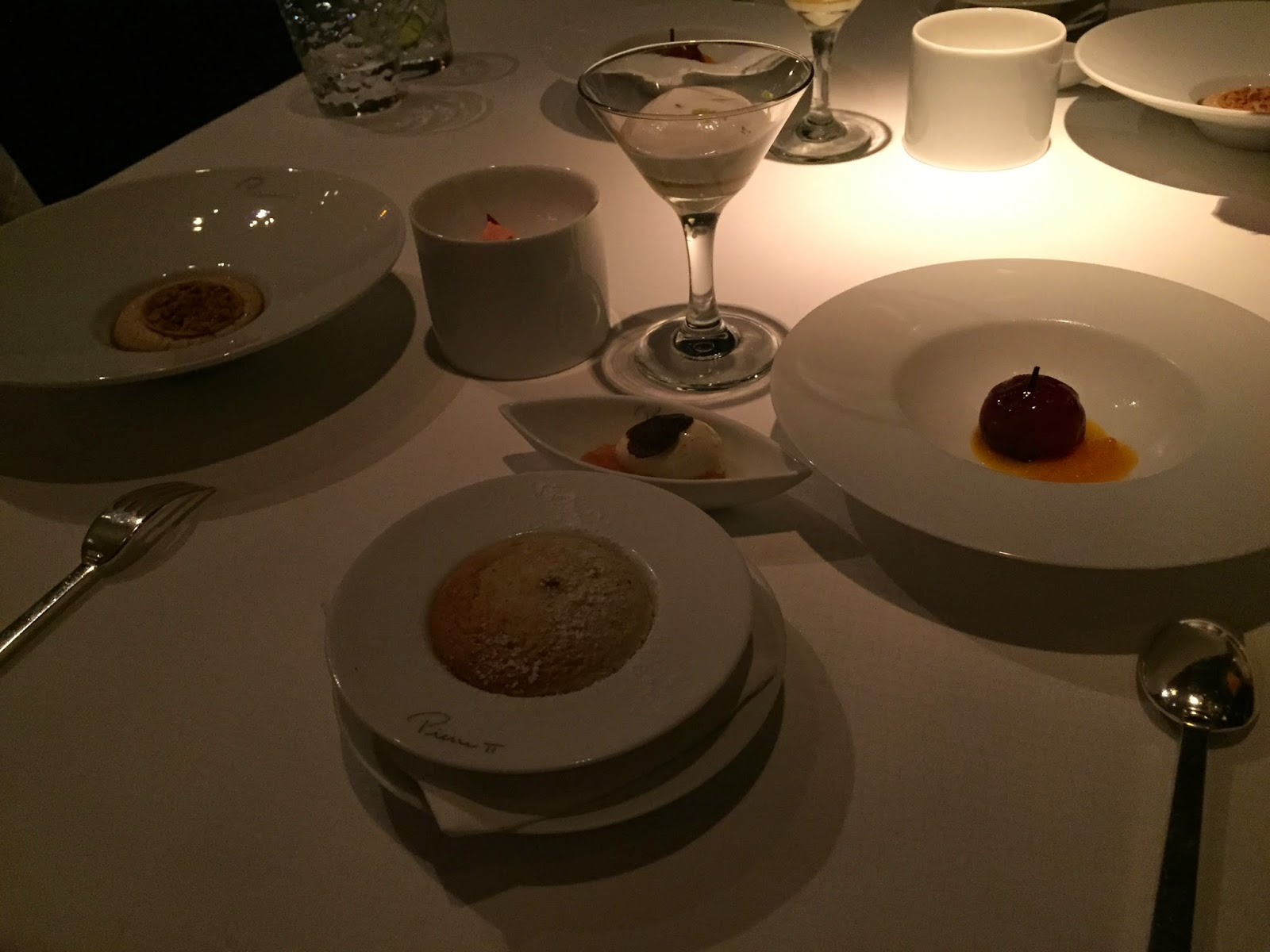 Pierre Mandarin Oriental Hong Kong restaurant french michelin star dessert