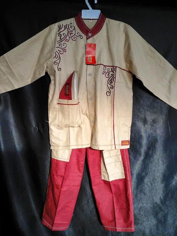 Grosir Baju Koko Anak Muslim Terbaru 2015