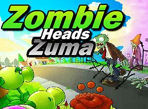 Zombie Heads Zuma