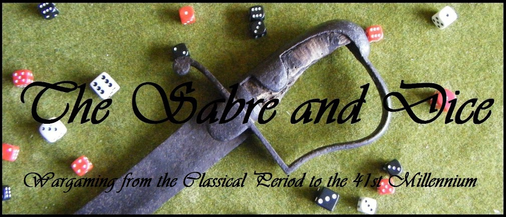 The Sabre and Dice: Wargaming from the Classical Period to the 41st Millenium