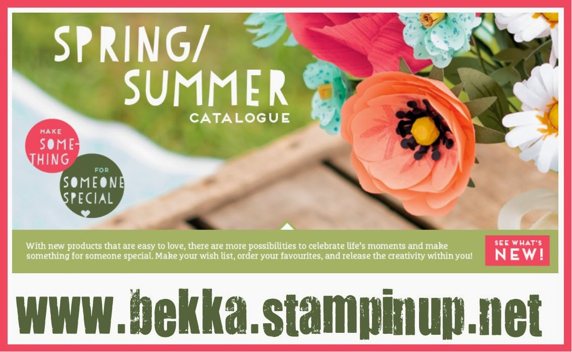 Shop the Stampin' Up! UK Spring Summer 2015 Catalogue here