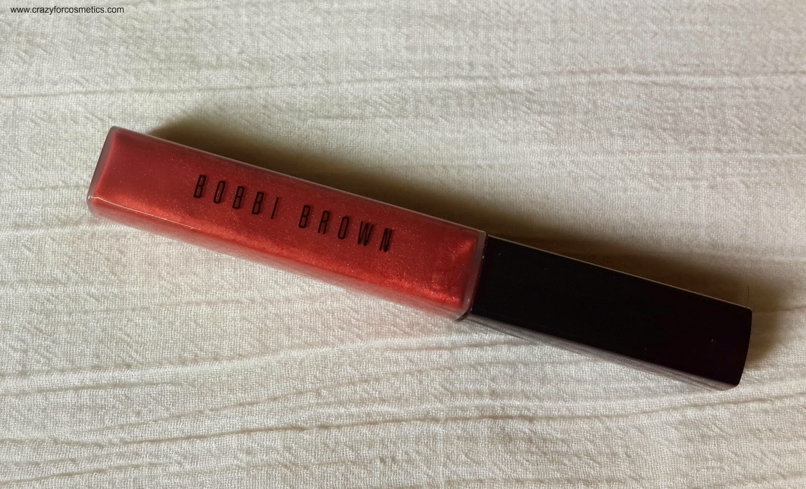 bobbi brown shimmer lip gloss Ruby Sugar review-bobbi brown shimmer lip gloss ruby sugar swatches