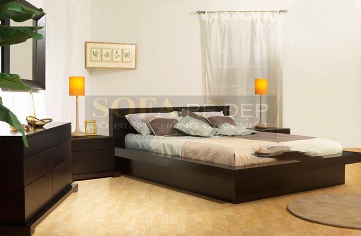 Giường ngủ GN001