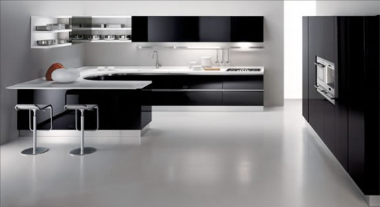 L Shape Kitchen Design