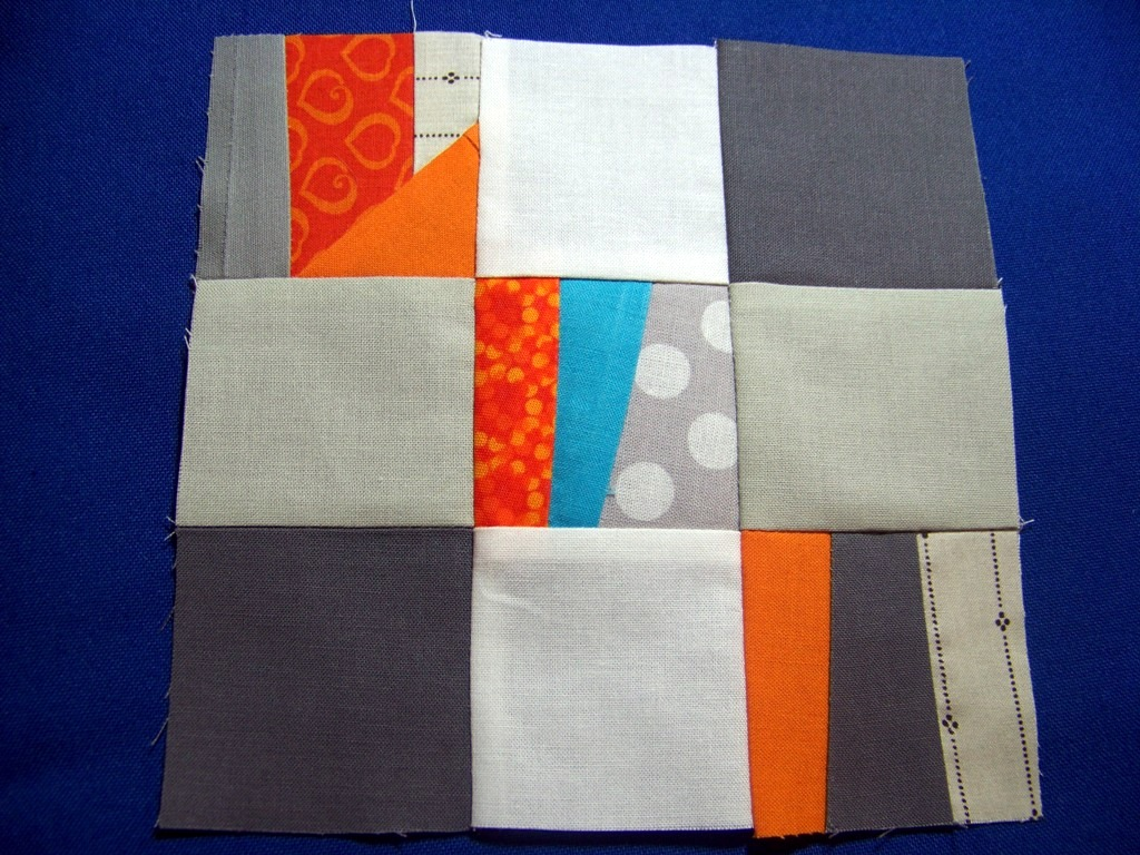 Attic window quilt shop modern monday block quilt along for Modern house quilt block