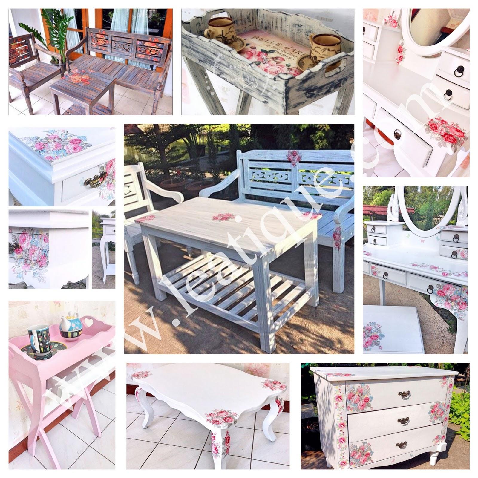 leatique online shop belanja furniture shabby chic. Black Bedroom Furniture Sets. Home Design Ideas