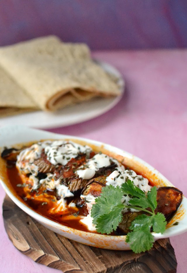 Borani Banjan (Afghan Layered Eggplant Dish)