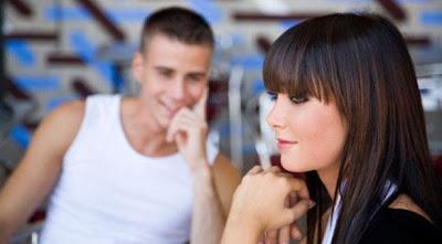 Flirting Body Language Of A Woman