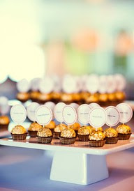 Chocolate Place Card Holders
