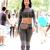 Spotted in New York: Rihanna in Alexander Wang x H&M