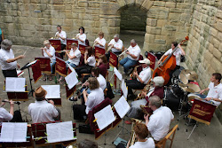 The Band In Warkworth Castle 2010