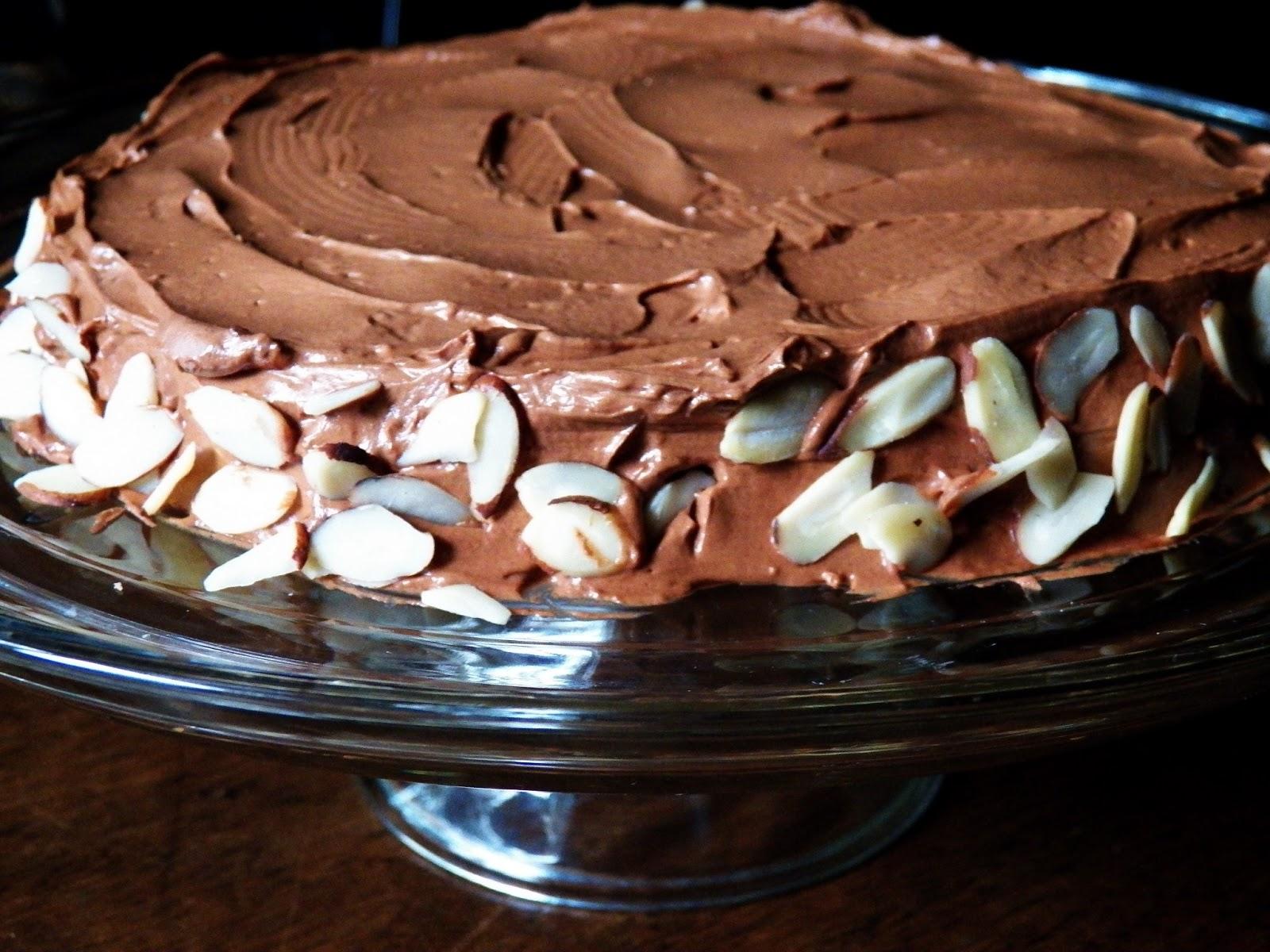 The Tasty Cheapskate: Julia Child's Chocolate Almond Cake