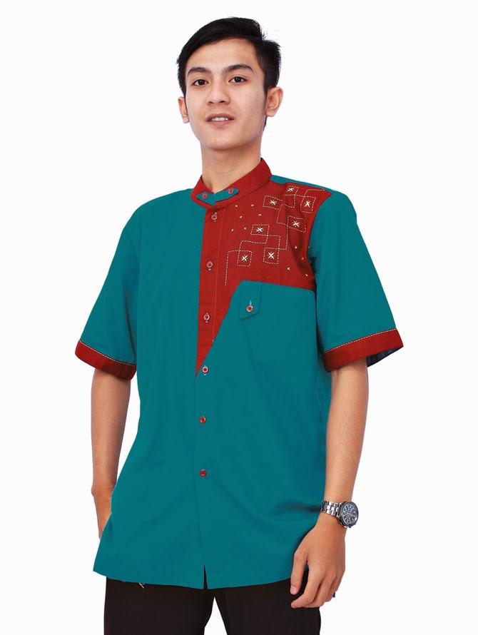 Gambar model baju muslim remaja putra terbaru 1