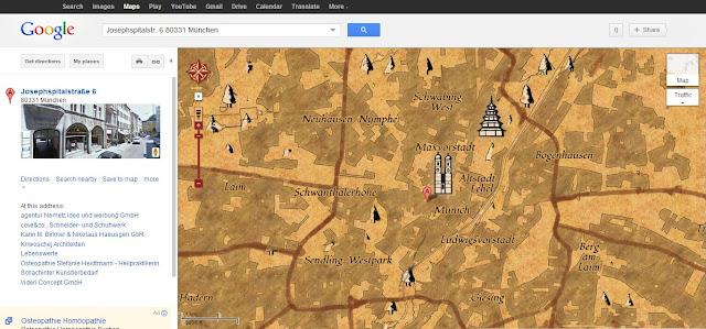 Google Maps treasure