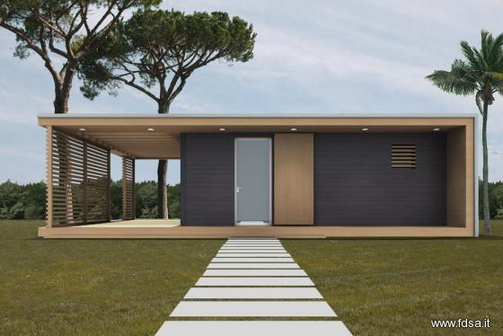 Case prefabbricate in legno su misura sostenibili for Costo per costruire una casa di 1600 piedi quadrati