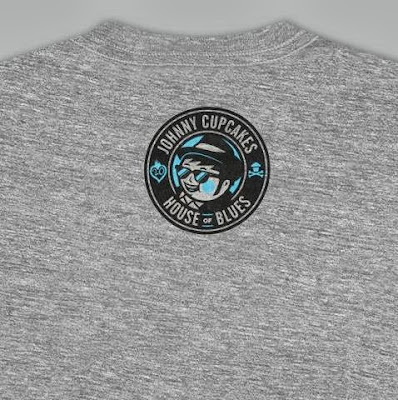 House of Blues 20th Anniversary T-Shirt Back Logo by Johnny Cupcakes