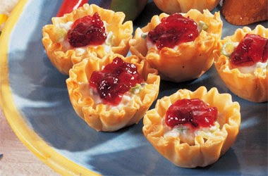 Cranberry Crab Appetizers