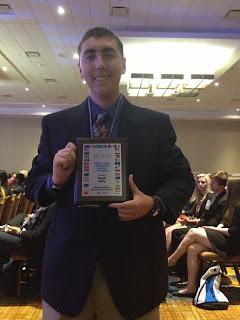 Montgomery Catholic's Derek Kelly Honored at Key Club International Convention 1