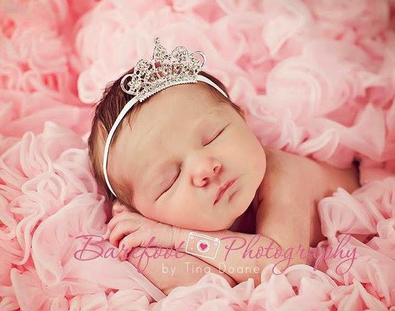 Les plus belles photos de bébés princesses