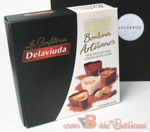 Bombones artesanos de chocolate