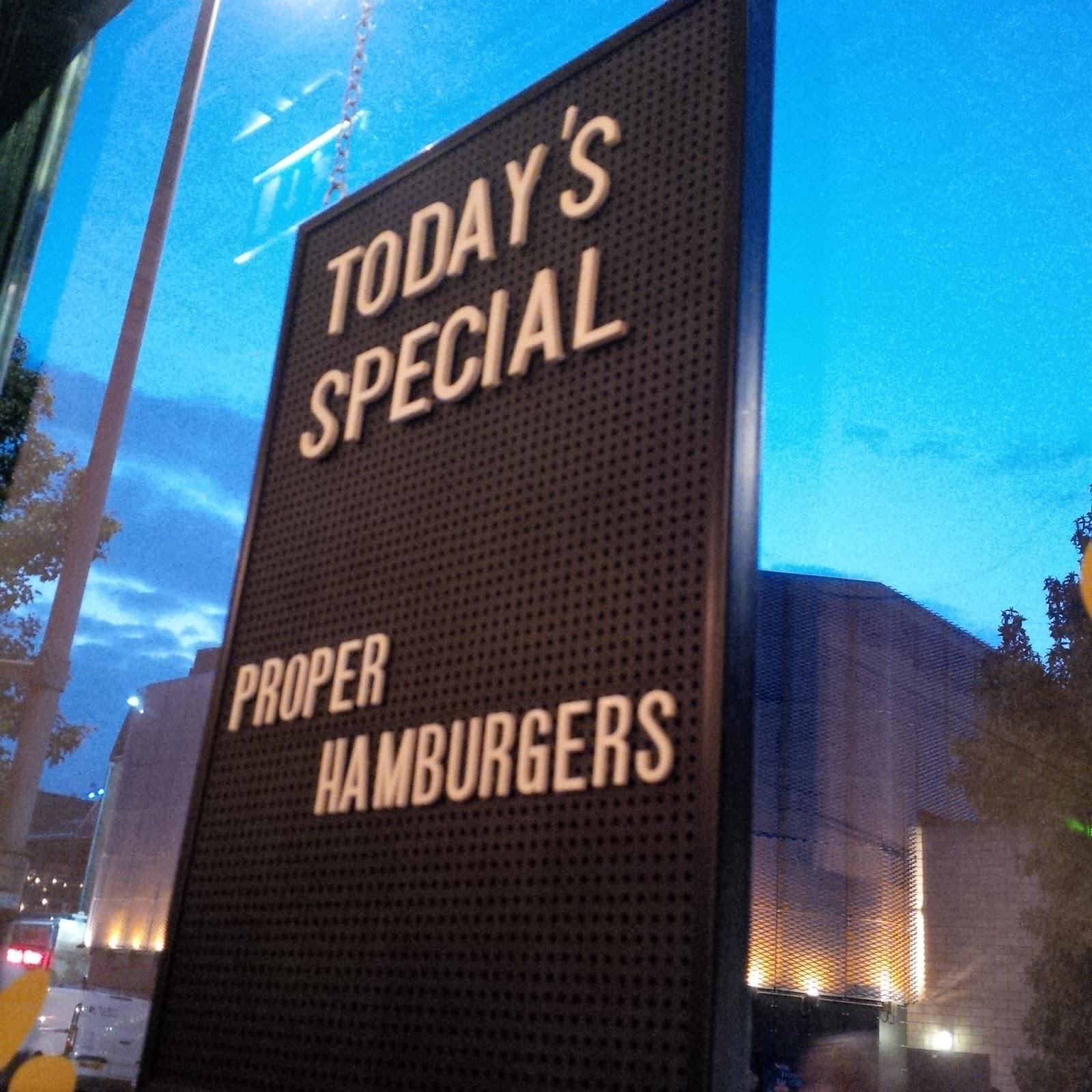 Burger Sign | Petite Silver Vixen