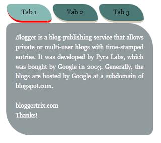 Gộp nhiều widget trên cùng một thanh cho blogspot